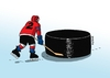 Cartoon: pukos2013-far (small) by kotrha tagged hokej,hockey,world,cup