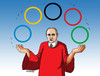 Cartoon: putiniolymp (small) by kotrha tagged olympic,games,brazil,rio,de,janeiro,the,world,sport,doping