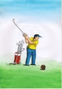 Cartoon: slimogolf (small) by kotrha tagged humor