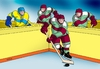 Cartoon: styrhok (small) by kotrha tagged hokej,hockey,world,cup