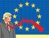 Cartoon: trumpeukravat (small) by kotrha tagged usa europe world trade war clo zoll douanne