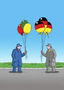 Cartoon: wahlen 01 (small) by kotrha tagged deutschland,wahlen