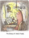 Cartoon: diary of Anns Frank (small) by armadillo tagged ann,frank,german,amsterdam,diary