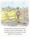 Cartoon: Walk-a-bout (small) by armadillo tagged golden,shoe,walk,surprise