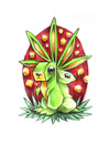 Cartoon: Trippy bunnies (small) by Trippy Toons tagged easter,bunny,bunnies,ostern,osterhase,hase,hasen,rabbit,kaninchen,trip,trippy,smoke,smoking,rauch,rauchen,weed,ganja,marijuana,marihuana,cannabis,stoner,stoned,kiffen