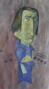 Cartoon: Franz Liszt (small) by SAPIENS tagged cartoon,drawing,colour