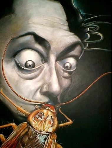 Which artists influenced Salvador Dali?