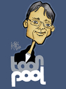 Cartoon: portraitpitch (small) by kotbas tagged portreit,cartoon