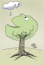 Cartoon: water of life (small) by kotbas tagged water,life,drop,hope,cloud