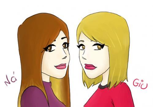 Cartoon Friends Playing