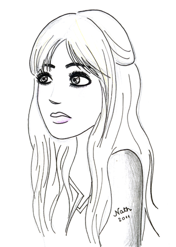 Mininha By Naths Famous People Cartoon Toonpool