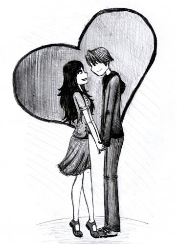 Cartoon: Thats amore (medium) by naths tagged couple,love