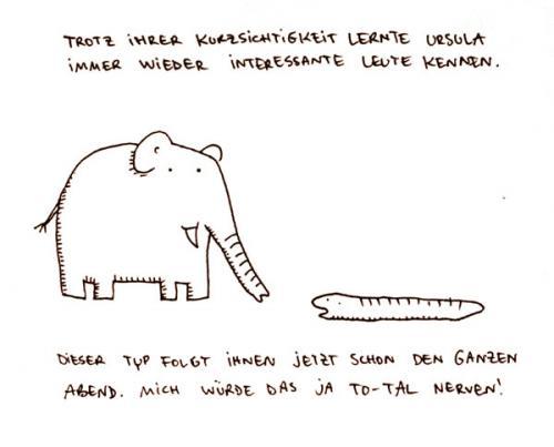 Kennenlernen Cartoon 2 von 17