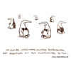 Cartoon: Farbwechsel. (small) by puvo tagged pinguin,klima,erderwärmung,klimawandel,farbe,farbwechsel,penguin,climate,change,global,warming