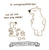 Cartoon: Winterschlafenszeit (small) by puvo tagged winter,sleep,winterschlaf,bär,kind,eltern,erziehung,schlafenszeit,education,child,parents,bed,time