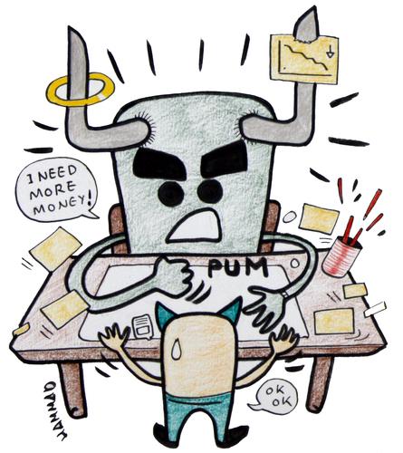 collection plate cartoons - Humor from Jantoo Cartoons |More Money Cartoon
