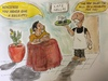 Cartoon: Cafe Ellas (small) by CatPal tagged greek,economy