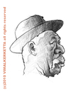 Cartoon: Caricature-Morgan Freeman (small) by vim_kerk tagged morgan,freeman,caricature