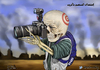 Cartoon: Press wars (small) by almosihij tagged international,crimes,war,criminals,told,reporters,correspondents