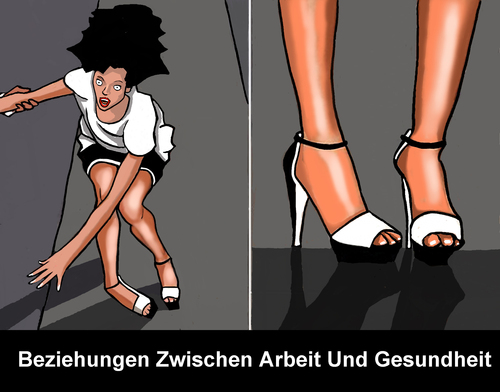 Cartoon: Die Berliner Fashion Week (medium) by perugino tagged arbeitsbedingungen,stress,mode,models,fashion,arbeitsbedingungen,stress,mode,models,fashion
