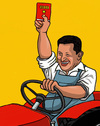 Cartoon: Chavez (small) by perugino tagged chavez venezuela