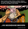 Cartoon: The Marlboro Man (small) by perugino tagged smoking