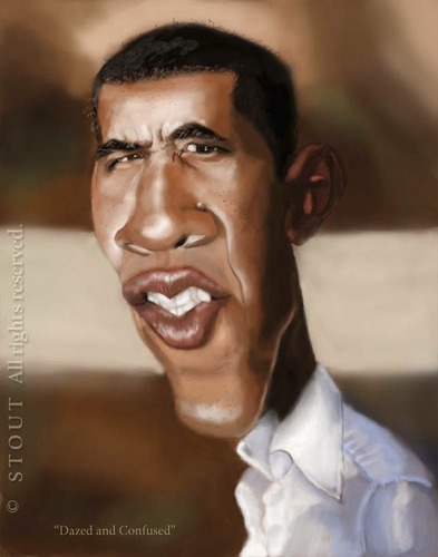Cartoon: Barack Obama (medium) by doodleart tagged politician,president