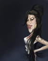Cartoon: Amy Winehouse (small) by doodleart tagged amy,winehouse