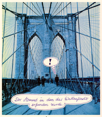 Cartoon: erfindergeist (medium) by Andreas Prüstel tagged brooklynbridge,ny,erfindung,roebling