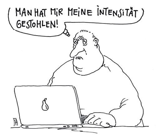 Cartoon: verlust (medium) by Andreas Prüstel tagged internet,indentität,user,daten,datenklau,intensität,intensiv,cartoon,karikatur,andreas,pruestel,internet,indentität,user,daten,datenklau,intensität,intensiv,cartoon,karikatur,andreas,pruestel