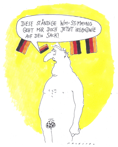 wm By Andreas Prüstel | Sports Cartoon | TOONPOOL