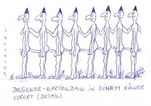 Zaun By Andreas Prustel Media Culture Cartoon Toonpool