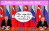 Cartoon: ... (small) by Andreas Prüstel tagged erdogan,putin,türkei,russland,konflikt,arschlöcher,cartoon,collage,andreas,pruestel