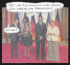 Cartoon: abhörresistent (small) by Andreas Prüstel tagged nsa,geheimdienst,datenspionage,ahörung,verwanzung,barack,obama,michelle,angela,merkel,joachim,sauer,staatsbesuch,übergardinen,deutschland,eu,collage,cartoon,andreas,pruestel