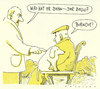Cartoon: armer hund (small) by Andreas Prüstel tagged burnout,hund