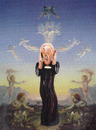 Cartoon: art-melange (small) by Andreas Prüstel tagged munch,schrei,expressionismus,romantik,runge,vermarktung,aufblaspuppe