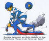 Cartoon: europafarben (small) by Andreas Prüstel tagged europa,eu,euro,griechenland,ukraine,russland,berlin,neukölln,performance,künstlerin,cartoon,karikatur,andreas,pruestel