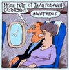 Cartoon: fernweh (small) by Andreas Prüstel tagged fernweh,tod,fliegen,risiko,reisen,mutti,cartoon,karikatur,andreas,pruestel