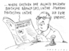 Cartoon: stuttgart81 (small) by Andreas Prüstel tagged stuttgart,stuttgart21,badcannstatt,bürgerproteste,tageszeitung,deutschebahn,schwaben,unterirdisch,beerdigung