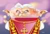 Cartoon: Bento XVI (small) by Ulisses-araujo tagged bento,xvi,caricature