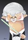 Cartoon: George Lucas (small) by Ulisses-araujo tagged george,lucas