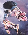 Cartoon: Jimi Hendrix (small) by Ulisses-araujo tagged jimi,hendrix,caricature