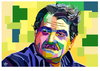 Cartoon: sherko bekas (small) by handren khoshnaw tagged handren,khoshnaw,portrait,sherko,bekas,kurdistan