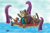 Cartoon: abandonen el barco! (small) by ernesto guerrero tagged monstruo,marino,ilustracion,infantil