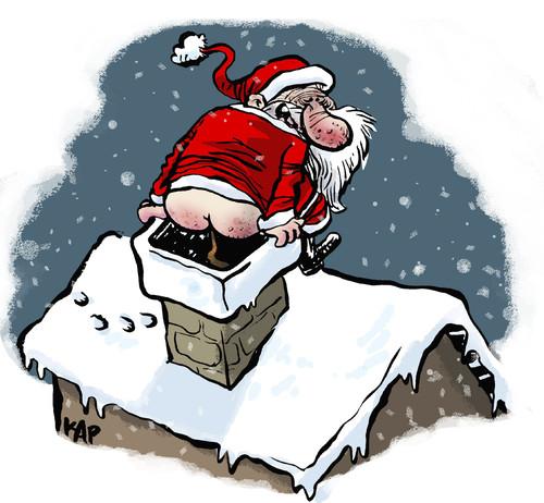 Shitty Christmas By kap   Religion Cartoon   TOONPOOL