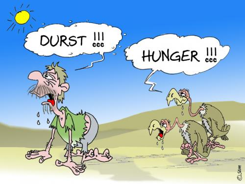 Cartoon: durst (medium) by sam tagged beziehung,bunt,cartoon,character,frau,mann,home,kinder,man,woman