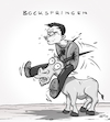 Cartoon: Bockspringen (small) by INovumI tagged bock,springen,bockspringen
