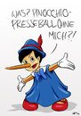 Cartoon: Pinocchio Presseball (small) by INovumI tagged petry,meuthen,bundespresseball,pinocchiopresse