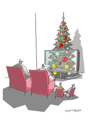 weihnachten by mattiello media culture cartoon toonpool. Black Bedroom Furniture Sets. Home Design Ideas