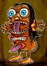 Cartoon: Totem girl (small) by D-kay tagged totem,girl